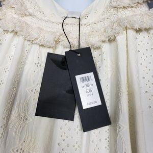 Rachel Zoe Dresses - 🆕 Rachel Zoe Women's Riley Gown, Ecru, 4